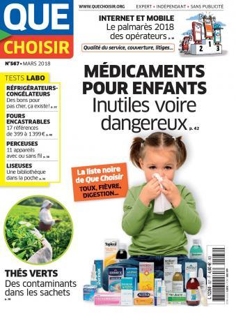 Médicaments pour enfants