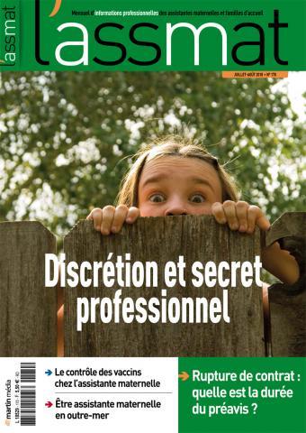 Discrétion et secret professionnel