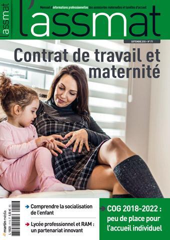 Contrat de travail et maternité