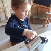 Les jeux de transvasement activité assistante maternelle