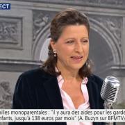 Agnes Buzyn sur BFM TV