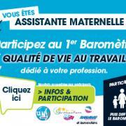 Baromètre qualité de vie au travail des assistantes maternelles