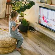 Repas sur fond de télévision,  appauvrissement du langage des enfants