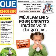 Maux bénins des enfants: attention aux médicaments