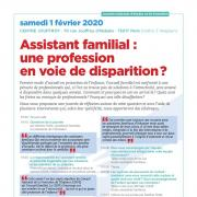 Assistant familial : une professionen voie de disparition ?
