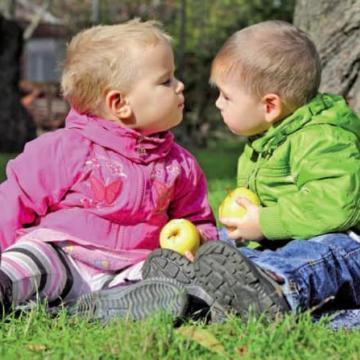 Le partage chez l'enfant