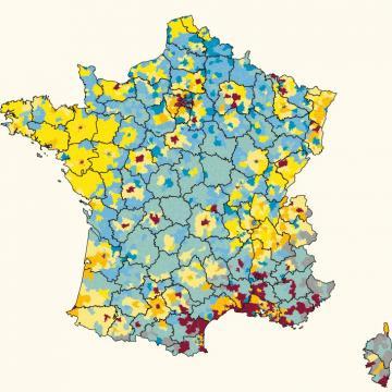 Cartographie de la qualité de vie des enfants en France