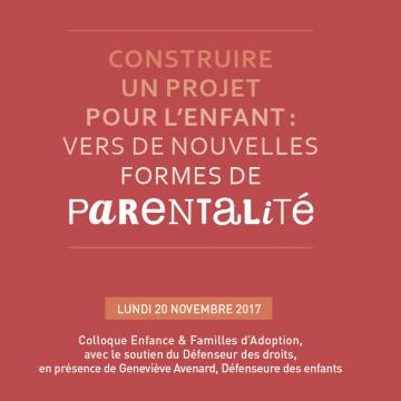 Colloque EFA: Construire un projet pour l'enfant