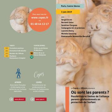 Possibilités et limites de l'alliance parents professionnels en protection de l'enfant.
