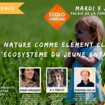 conférence nature jeune enfant
