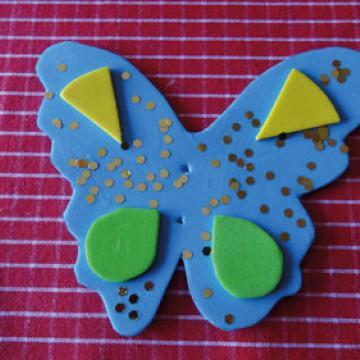 Papillon mousse étape 3