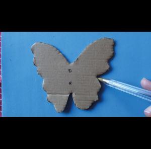 Papillon mousse étape 1