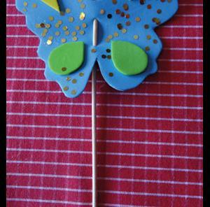 Papillon mousse étape 7
