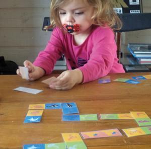 Les dominos des animaux marins étape 1