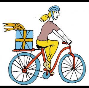 Créer un tableau de la ville (pour les plus grands)  cycliste